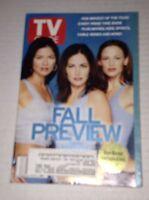Tv Guide Magazine Fall Preview September 15-21 2001 021517RH