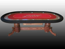 Custom Poker Table, Fully Customizable FREE SHIPPING!!!