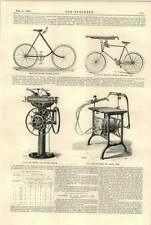 1896 Duryea Pyramid Bicycle Machine Gun Colombia Brazing Repair  Bridges Assam