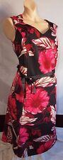 Portrait Ann Harvey Vintage buntes Kleid XL 46 NEU