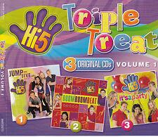 HI.5-JumpJive/Boom Boom Beat/It's A Party/Animal Jokes-TV Show Soundtrack-4-CDs