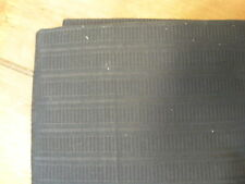 Calvin Klein Home Standard Pillow Sham Satin Rib Lead Dark Gray New NIP