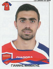 N°253 IOANNIS MANIATIS PANIONIOS STICKER PANINI GREEK GREECE LEAGUE 2010