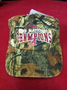 University of Alabama 2012 National Champions Mossy Oak Camo Cap