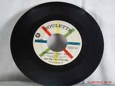 JOEY DEE & THE STARLITERS-a-(45)-PEPPERMINT TWIST-PART I/PART II-ROULETTE - 1962