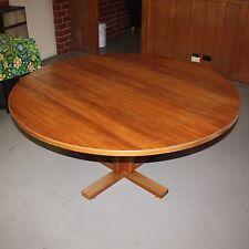 Veneer Timber Round Dining Table 1510mm diameter 735 high - Adelaide