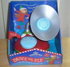 Hallmark Christmas Elf Music Box Gramophone Northpole Dance Like An Elf NEW NIB