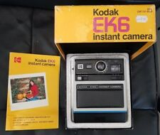 KODAK EK6 INSTANT CAMERA AND ORIGINAL BOX WITH INSTRUCTIONS, GOOD CONDITION