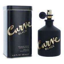 Curve Black Cologne by Liz Claiborne, 4.2 oz EDT Spray for Men NEW