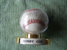 BOBBY COX AUTOGRAPHED SIGNED BASEBALL Atlanta Braves Manager, Hall of Fame, #6