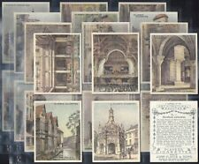 PLAYERS-FULL SET- ARCHITECTURAL BEAUTIES (L25 CARDS) - EXC