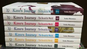 Kino's Journey English Manga Vol 1-7 **NEW**