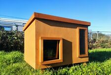 More details for luxury feral stray outdoors cat house kennel shelter cat den cat lux