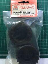 Kyosho FCW-4 Rear tire allround Type FA series 1/14 tires ruedas gomme RC optima