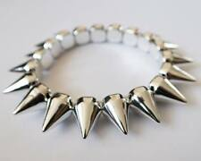 Spike bracelet 1 row, silver
