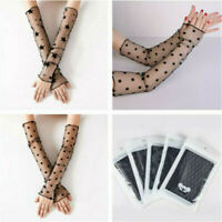 Sexy Summer Anti UV Sleeve Sunscreen Ladies Lace Silk Armband Arm Sleeves Foot
