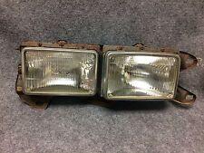 1985-1988 Chevrolet Nova 4dr RH Headlight Headlamps w/Mounting Panel OEM S586