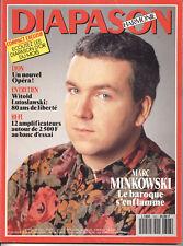 Revue DIAPASON - N°393 05/93 - MINKOWSKI - HIFI Musique -  LIVRAISON GRATUITE