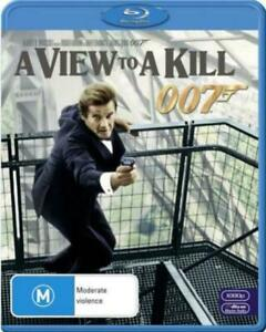 105 BRAND NEW SEALED 007 James Bond - A View to a Kill (Blu-Ray)