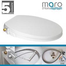 Maro D'Italia FP108 Dusch-WC Aufsatz: (Rund/Knapp) Stromlos - Messing gewinde