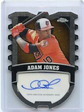 2014 TOPPS CHROME #CCA-AJ ADAM JONES AUTOGRAPH AUTO SP #22/25, BALTIMORE ORIOLES