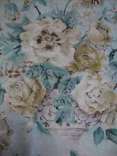 188cm SANDERSON Giselle linen blend curtain upholstery fabric remnant
