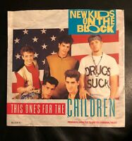 "New Kids On The Block - This Ones For The Children [7"" Vinyl] - (#EB-7-25)"