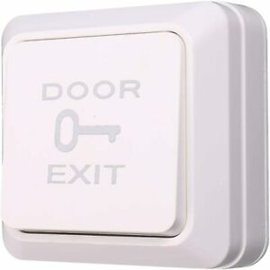 Square Rocker Switch Door Press with Backbox for Access Control System,