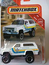 Matchbox 1989 Chevy Blazer 4x4  1:64
