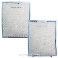 UNIVERSAL Cooker Hood Vent Filter Extractor Fan Metal Mesh Blue 300x240 (2 Pack)