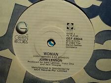 """John Lennon """"Woman"""" 1980 GEFFEN Oz 7"""" 45rpm"""