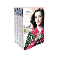 Anna Jacobs The Kershaw Sisters 4 Books Collection Set Our Lizzie, Our Eva ...