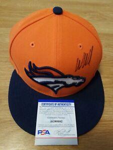 Wes Welker Autographed Signed Denver Broncos Fitted Cap Hat NFL Auto PSA DNA COA