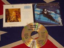 BELINDA CARLISLE - heaven on earth  VIRGIN CDV 2496  CD 1987