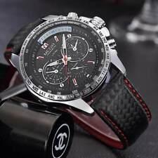 Montre Sport Top Marque Bracelet cuir Homme Fashion Men Watch Promo