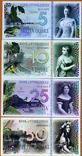Set , Evshlohogi, 5;10;25;50 Dubre, 2018, POLYMER, UNC > 500 sets issued