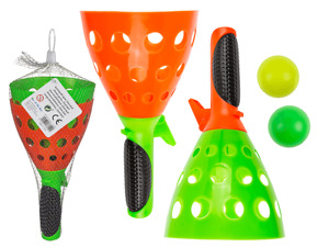 Kids Click Ball and Catch Ball Game Toy Set Two Balls Indoor & Outdoor Toy Party