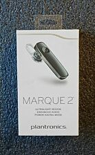*OPEN BOX* Plantronics Marque 2 Bluetooth Headset Voice Command M165<BLACK>