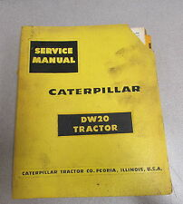 Caterpillar Cat Dw20 Tractor Service Repair Manual 57C 67C
