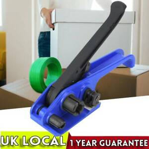 Manual PET PP Strapping Packing Belt Tool Sealer Tensioner Banding Machine Steel