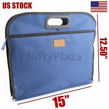 Business Documents holder Zipper Bag Men's Soft Tote Casual Handbag A4 Documents