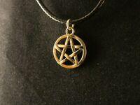 Pentagramm Anhänger mit Kette 24 Karat Vergoldet Gold Gesundheit Stern Leben