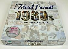 Trivial Pursuit 1980's Board Game Hasbro Parker For the Times of Your Life