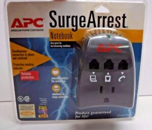 APC Notebook Surge Arrest Protector