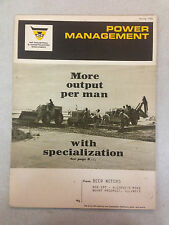 Spring 1968 MF Industrial & Construction Machinery Power Management Booklet
