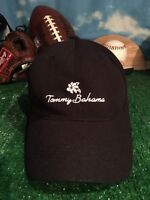 Tommy Bahama  Flex Fit Black fitted hat Cap h45