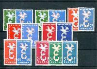 6024) EUROPA CEPT 1958 - Jahrgang ** komplett