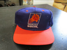NEW VINTAGE Phoenix Suns Basketball Snap Back Hat Cap Purple Plain Logo NBA 90s