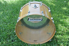 "CHICAGO ERA! LUDWIG 26"" NATURAL THERMOGLOSS BASS DRUM for YOUR DRUM SET! #Z674"