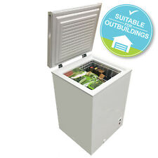 SIA CFR100WH Chest Freezer In White | 103 Litres Capacity | A+ Energy Rating